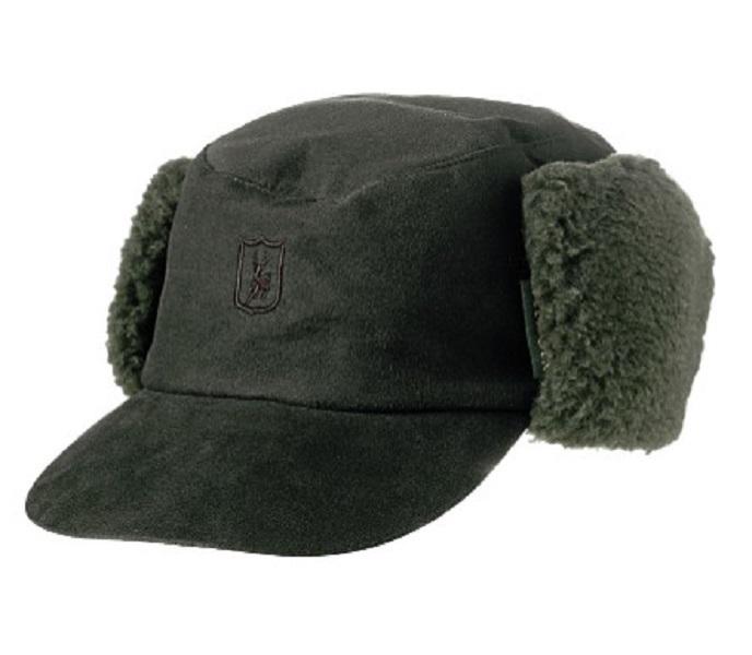 hell im Glanz Luxus kaufen Modestile Winter - Mütze / Kappe Rusky Grün von Deerhunter Größe 60/61