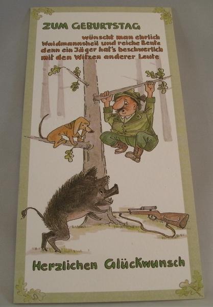 Geburtstag Jager Geburtstagsspruche Fur Karten