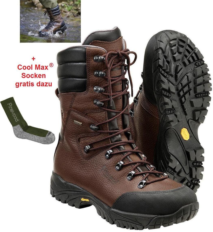 f142303171681f Jagdschuh aus Leder hoch von Pinewood in Damengrößen 1 Paar Socken gratis