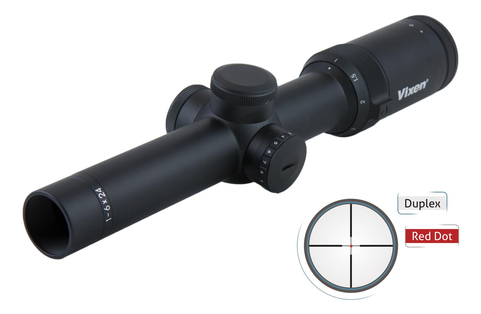 Zielfernrohr Mit Entfernungsmesser Reinigen : Zielfernrohr vixen 1 6x24 duplex mit leuchtabsehen 6x zoom