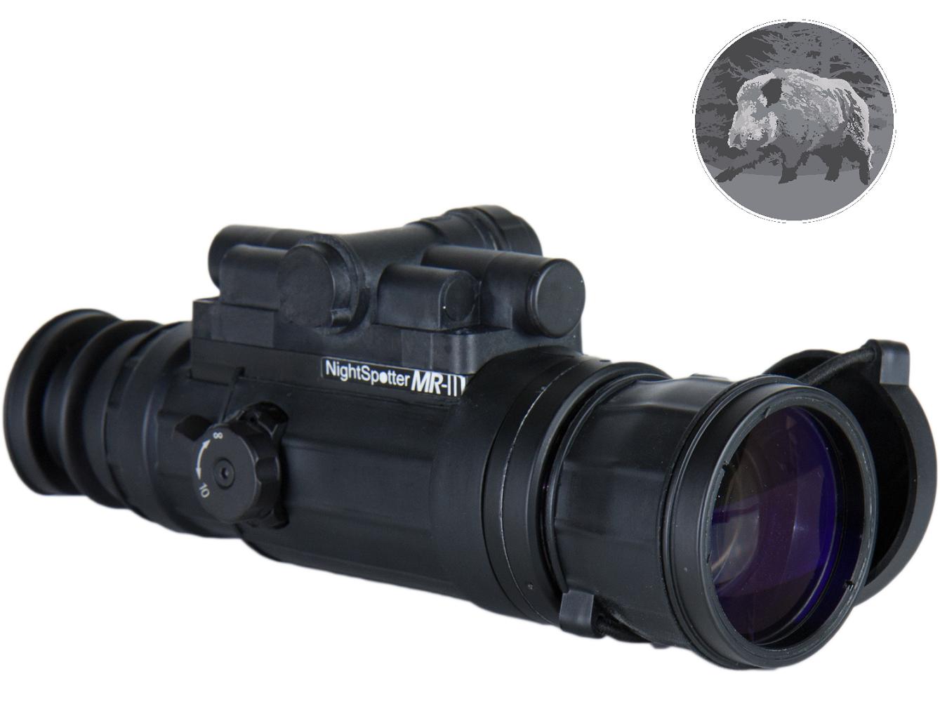 Nachtsichtgerät nightspotter mr 2.0 gen 2 schwarz weiß
