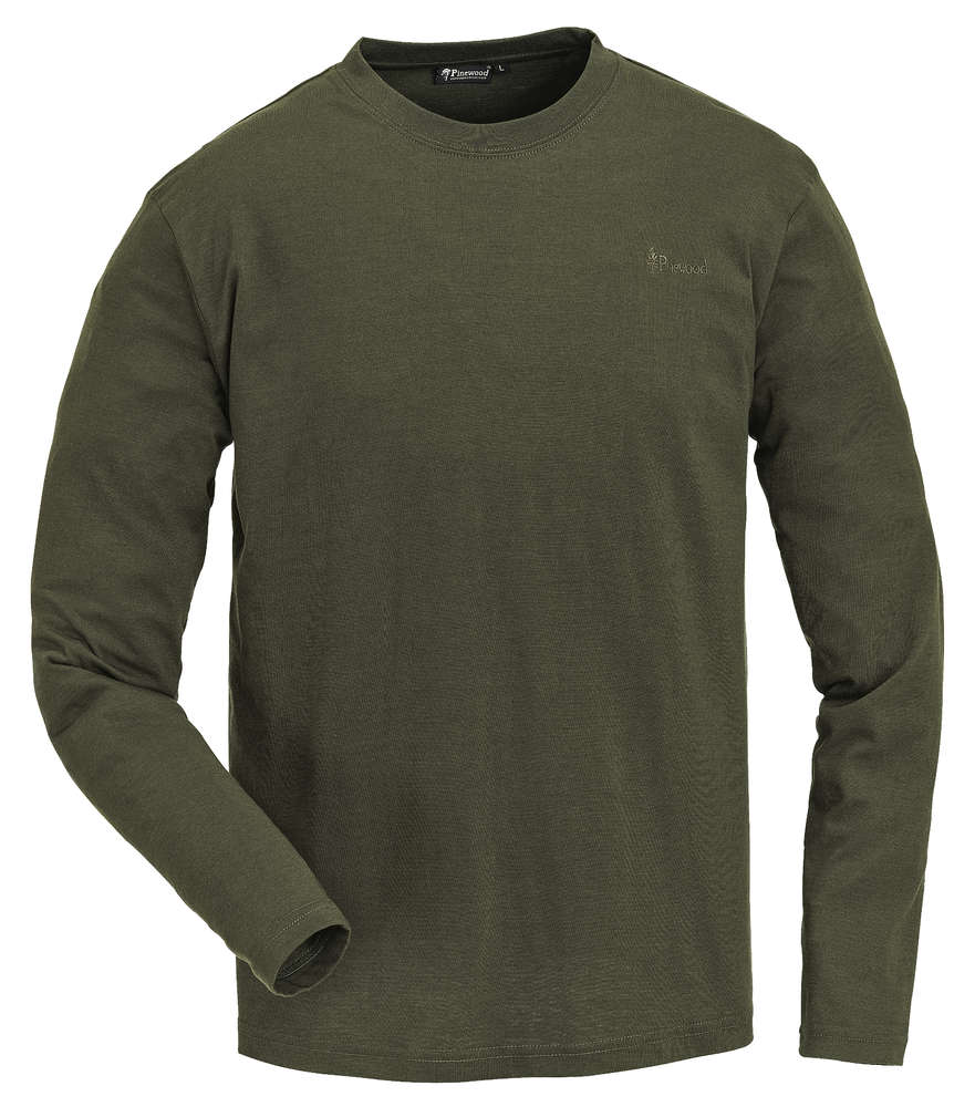 reputable site 8fc92 bcf24 Langarm Shirt grün im Doppelpack von Pinewood