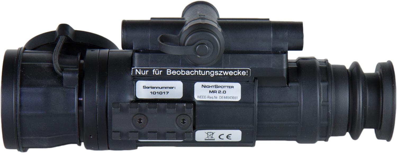 Nachtsichtgerät Nightspotter MR 2.0 Gen 2+ schwarz/weiß