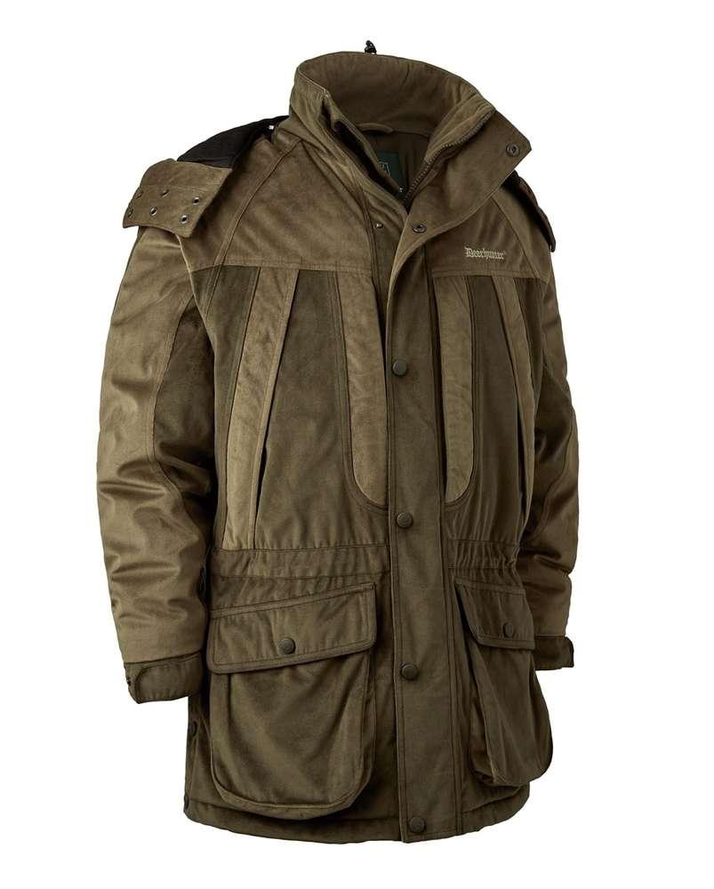 brand new eeedc bec09 Rusky Silent Jacke lang Winterjacke von Deerhunter